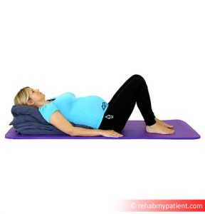 Pillow Squeeze Exercise 2